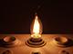 V-TAC E14 LED izzó Vintage filament (4W/300°) Láng - extra meleg fehér