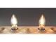 MODEE LED izzó E14 Retro filament (4W/360°) Gyertya - természetes fehér