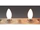 MODEE LED lámpa E14 Filament (4W/360°) Gyertya - meleg fehér, opál