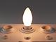MODEE E14 LED izzó Loft filament (4W/360°) Gyertya - meleg fehér