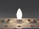 MODEE E14 LED izzó Loft filament (4W/360°) Gyertya - természetes fehér