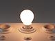 MODEE LED lámpa E14 Filament (4W/360°) Kisgömb - meleg fehér