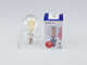 MODEE LED lámpa E14 Filament (4W/360°) Kisgömb - meleg fehér, átl.