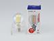 MODEE LED lámpa E14 Filament (4W/360°) Kisgömb - term. fehér Kifutó!