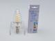 V-TAC LED izzó E14 Retro filament (4W/300°) Csavart gyertya - meleg fehér