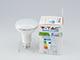 V-TAC LED lámpa E27 (10W/120°) R80 - PRO - meleg f. - Samsung