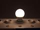 MODEE E27 LED lámpa (10W/270°) Körte - természetes fehér