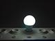 INESA LED lámpa E27 (11W/180°) Körte - hideg fehér
