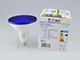 V-TAC LED lámpa E27 (15W/30°) PAR38 - kék (IP65)