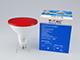 V-TAC LED lámpa E27 (15W/30°) PAR 38 - piros IP65