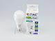 V-TAC LED lámpa E27 (17W/200°) PRO - meleg fehér, Samsung