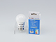 V-TAC LED lámpa E27 (3W/180°) Kisgömb - meleg fehér