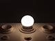 V-TAC LED lámpa E27 (3W/180°) Kisgömb - természetes fehér
