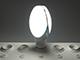 V-TAC LED lámpa E27 (40W/265°) Körbe világító - hideg fehér