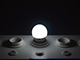 V-TAC LED lámpa E27 (4W/160°) Kisgömb - hideg fehér Kifutó!