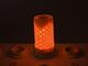 V-TAC E27 LED lámpa (4W/300°) Rúd - meleg fehér, mozgó láng effekt (1800K)