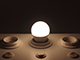V-TAC E27 LED lámpa (5.5W/180°) Kisgömb - természetes fehér, PRO Samsung