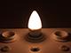 V-TAC E27 LED lámpa (5.5W/200°) Gyertya, opál - meleg fehér