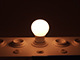 Philips LED lámpa E27 (5.5W/200°) Körte, dimm. - meleg f.(2700K) Phil