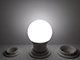Kanlux LED lámpa E27 (5.5W/240°) Körte, hideg fehér - IQ