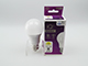 Kanlux LED lámpa E27 (5.5W/240°) Körte, meleg fehér, IQ