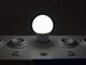 V-TAC LED lámpa E27 (6W/200°) RGB+CW+IR távirányítható
