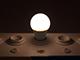 V-TAC LED lámpa E27 (6W/200°) Körte - RGB+NW+IR távirányítható