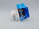 INESA LED lámpa E27 (6W/300°) Körte, opál - meleg fehér DIM
