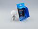 INESA E27 LED lámpa (6W/300°) Körte - opál - természetes fehér