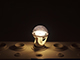 INESA LED lámpa E27 (6W/300°) Körte - természetes fehér, dimmelhető
