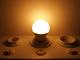 Kanlux E27 LED lámpa (7.5W/200°) Kisgömb - meleg fehér (IQ LED - TÜV)