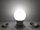 Kanlux LED lámpa E27 (8.5W/240°) Körte, hideg fehér - dimmelhető - IQ