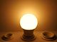 Kanlux LED lámpa E27 (8.5W/240°) Körte, meleg fehér - dimmelhető - IQ