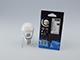 INESA E27 LED lámpa (8W/300°) Körte - meleg fehér, dimmelhető, opál
