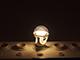 INESA E27 LED lámpa (8W/300°) Körte - természetes fehér