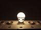 INESA E27 LED lámpa (8W/300°) Körte - természetes fehér, dimmelhető