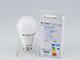 V-TAC E27 LED lámpa (9W/200°) Körte A60 - meleg fehér