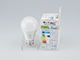 V-TAC E27 LED lámpa (9W/200°) Körte A60 - meleg fehér, PRO Samsung