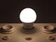 V-TAC E27 LED lámpa (9W/200°) Körte A60 - természetes fehér