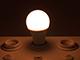 V-TAC E27 LED lámpa (9W/200°) Körte - meleg fehér, Automata fényérzékelős