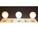 V-TAC E27 LED izzó Loft filament (10W/300°) Körte - hideg fehér
