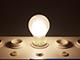 V-TAC LED lámpa E27 Filament (10W/300°) Körte opál - term. fehér