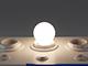 MODEE LED lámpa E27 Filament (4W/360°) Kisgömb - természetes fehér