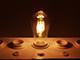 V-TAC LED lámpa E27 Vintage filament (6W/300°) ST64 - meleg fehér