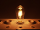 V-TAC E27 LED izzó Vintage filament (6W/300°) ST64 - meleg fehér
