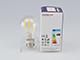 MODEE LED lámpa E27 Retro filament (7W/360°) Körte - természetes f., dimmelhető