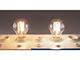 MODEE E27 LED izzó Retro filament (8W/360°) Körte - természetes fehér