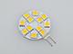 ANRO LED LED lámpa G4 (1.8W/120°) Tárcsa - meleg fehér DC!