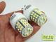 x.LED lámpa G9 (SMD3528x48/3W/270°) meleg Megújult!
