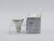 V-TAC GU10 LED lámpa 7W (110°) - Opál természetes fehér